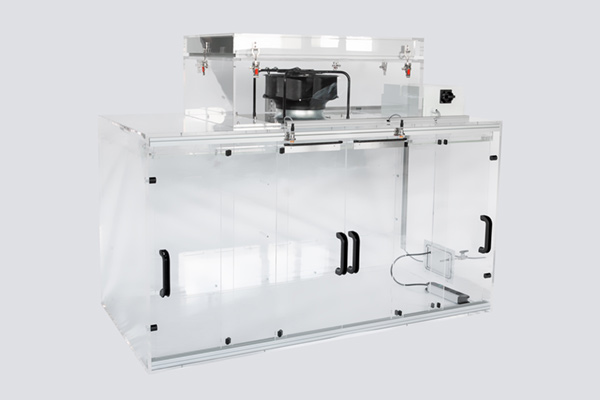 acrylic glass cabinet, Operator Protection